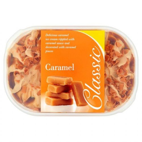 Classic Caramel Ice Cream 900ml ( NONE POSTAL ITEM )